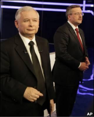 Качиньский и Коморовский