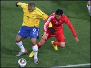 Brazil ta doke Koriya ta Arewa