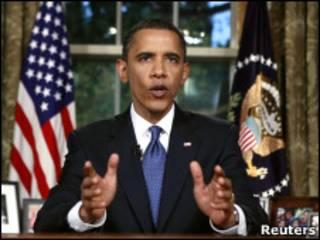 Барак Обама обращается к нации