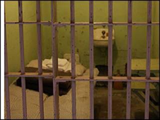 Celda en una prisión.