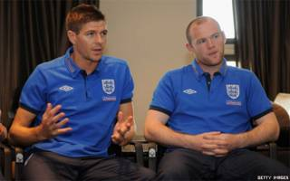 Rooney and Gerrard