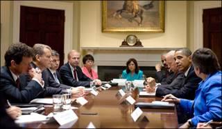 Tổng thống Obama gặp BP
