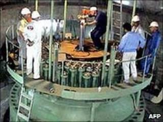 Instalação nuclear em Bushehr