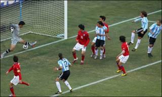 阿根廷与韩国B组比赛