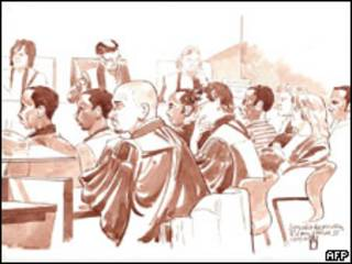 Somalíes en juicio en Rotterdam