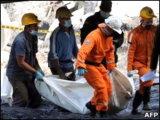 Взрыв на шахте в Колумбии