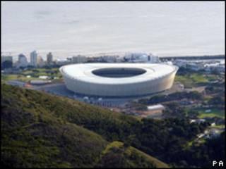 Estadio Green Point en Ciudad del Cabo