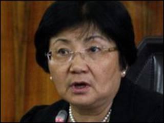 Shugaba Roza Otunbayeva