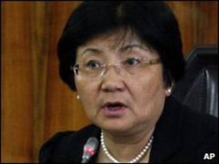Қирғизистон Президенти Роза Ўтинбоева