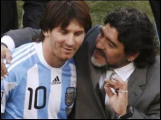 Maradona disse que não vai poupar Messi contra a Grécia