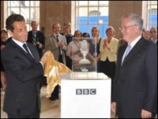 Николя Саркози в Би-би-си