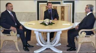 Переговоры по Карабаху в Санкт-Петербурге