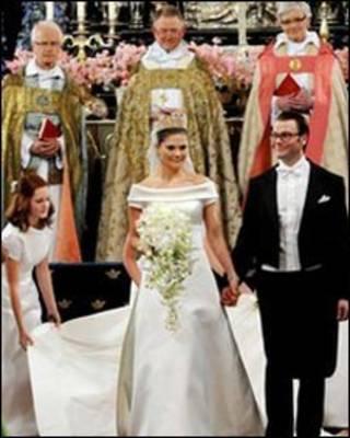 राजकुमारी विक्टोरिया की शादी