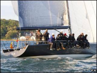 Яхта Тони Хейварда