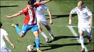 Slovakia 0 Paraguay 2