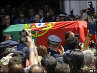 جثمان خوسيه ساراماغو
