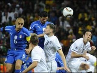 بازی ایتالیا نیوزلند