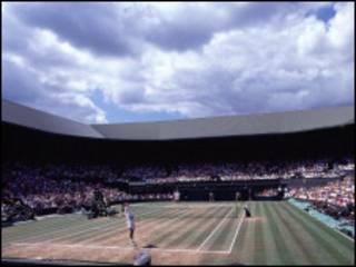 Главный теннисным корт Уимблдона