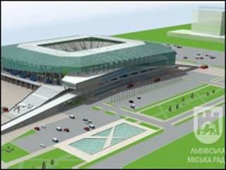 Проект нового стадіону у Львові