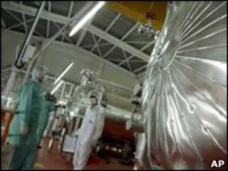 Planta nuclear en Isfahán
