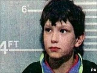 Imagem de Jon Venables, feita pela polícia em 1993 (arquivo)