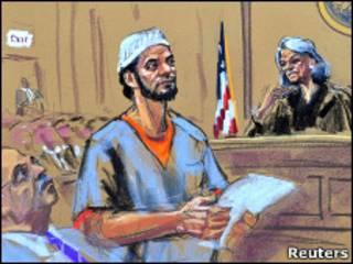 Файзал Шахзад в суде