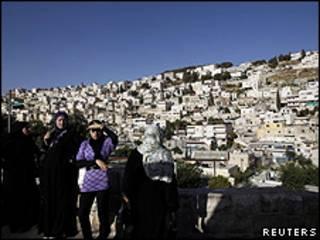 خانه های فلسطینی ها در سلوان