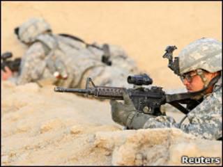 قوات أمريكية في قندهار