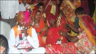 शमशान में शादी