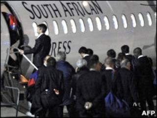Сборная Франции покидает ЮАР