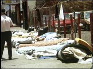 Бездомные в Лос-Анджелесе