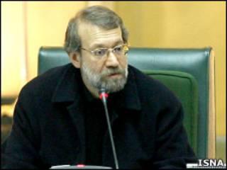 لاریجانی در مجلس