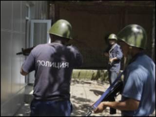 Қирғиз полицияси