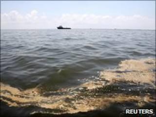 Vazamento na costa da Louisiana (arquivo)