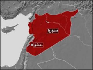 خريطة سورية
