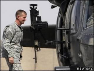 O general Stanley McChrystal