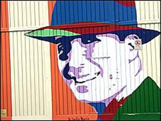 Retrato de Carlos Gardel