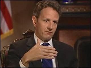 Bộ trưởng Tài chính Mỹ, Timothy Geithner