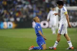 Cannavaro and Hamsik