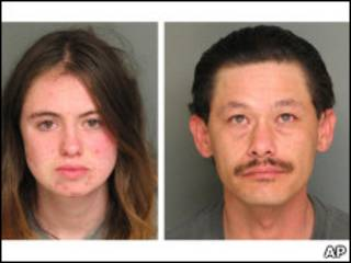 Samantha Tomasini e Patrick Fousek (foto: polícia de Salinas, CA)