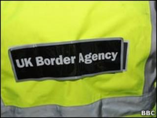 Funcionario de inmigración del Reino Unido