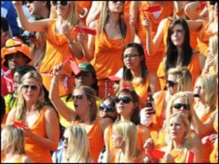 Голландские фанатки