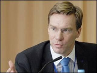 Керівник Представництва Фонду Конрада Аденауера в Україні Ніко Ланґе. Фото з вебсайту Міністерства юстиції.