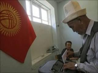Голосування у Киргизстані