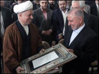 اکبر هاشمی رفسنجانی و عبدالله جاسبی