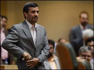Shugaban Iran Mahmoud Ahmadinejad