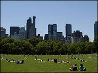 Central Park, Nova York (arquivo)