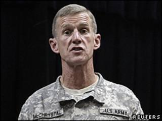 General Stanley McChrystal.