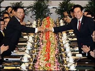 चीन-ताईवान व्यापार समझौता