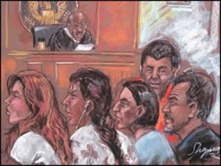 Підозрювані російські шпигуни, які постали перед судом у США